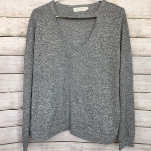 CABIN FEVER Grey Sweater